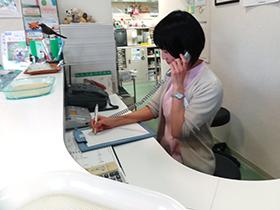 2名の動物看護師で,動物病院の幅広い仕事を行う