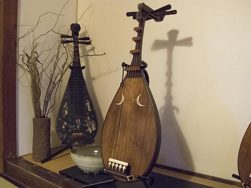 琵琶の音色に魅せられて