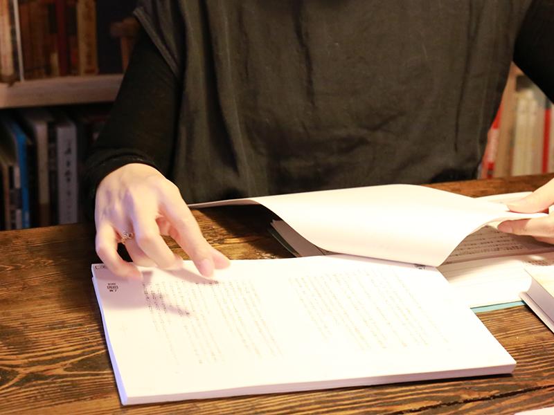 時間をかけて書かれたものを,<ruby><rb>丁寧</rb><rp>(</rp><rt>ていねい</rt><rp>)</rp></ruby>に仕上げる