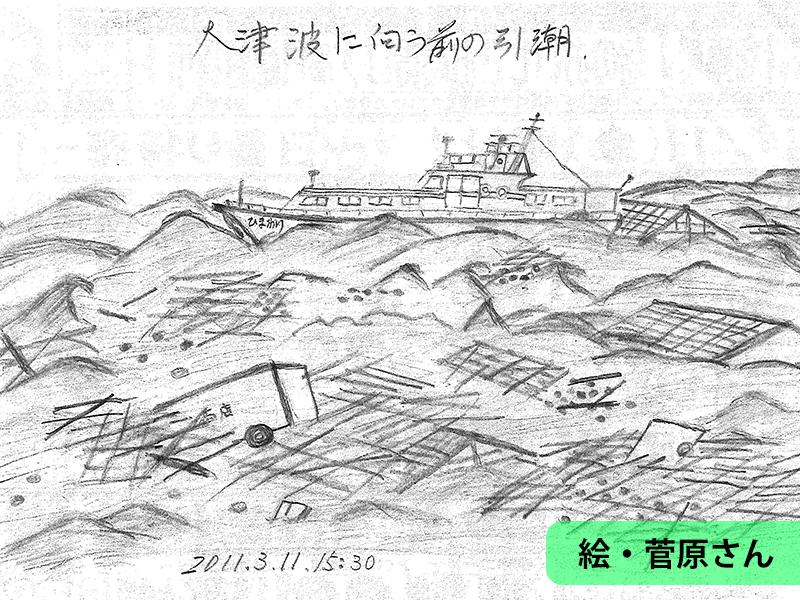 東日本大<ruby><rb>震災</rb><rp>(</rp><rt>しんさい</rt><rp>)</rp></ruby>の日