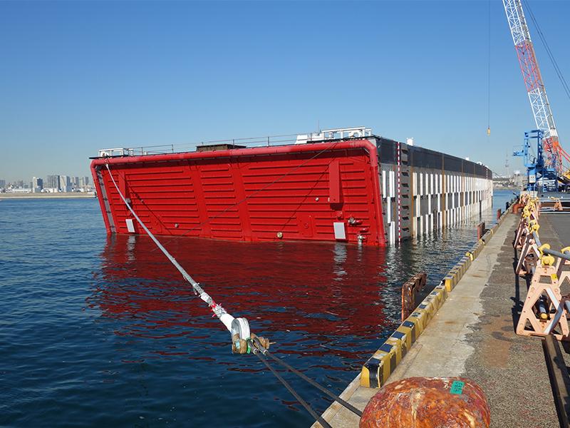 工事で使うための船もつくる<ruby>部<rt>ぶ</rt></ruby><ruby>署<rt>しょ</rt></ruby>