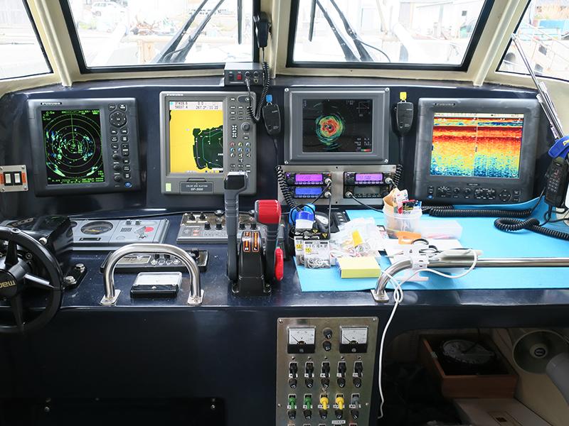情報通信機器が漁業を支える