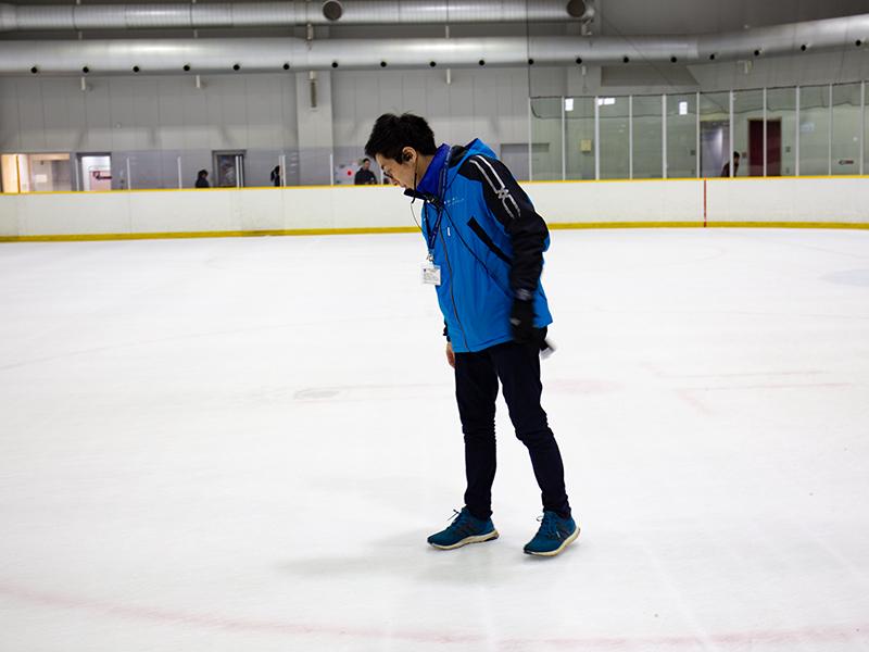 フィギュアスケートとアイスホッケーで良い氷は<ruby>違<rt>ちが</rt></ruby>う