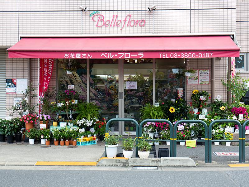 生花店で生まれ育ち,自分の店を持ちたいと思うように