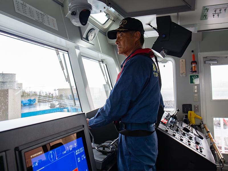 東京港の安全を守る