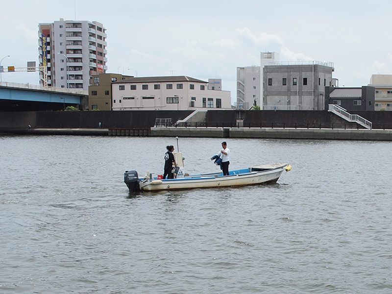 10歳から父を手伝い漁の修行