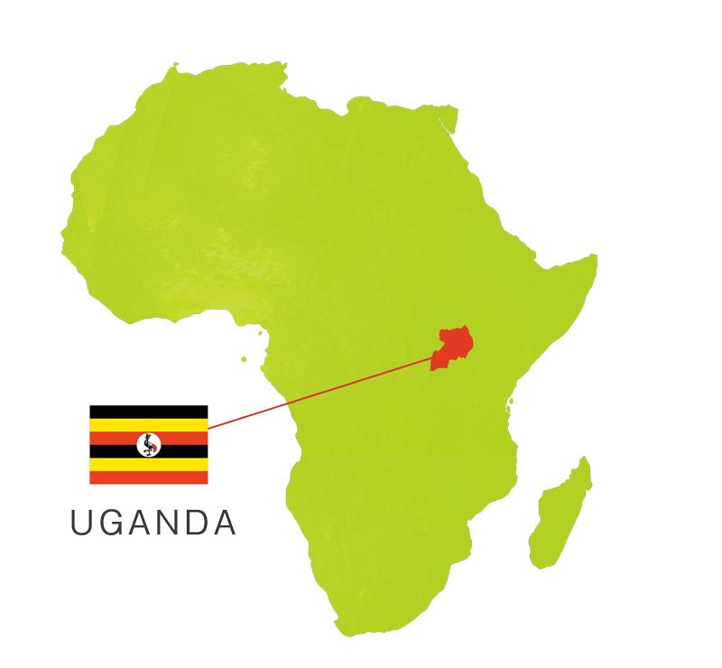 東アフリカにある自然豊かな国・ウガンダ