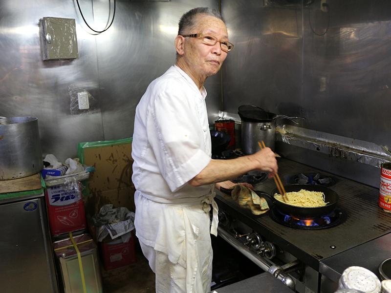 力道山の「リキレストラン」元総料理長。西洋料理を日本人の味覚に合う味に